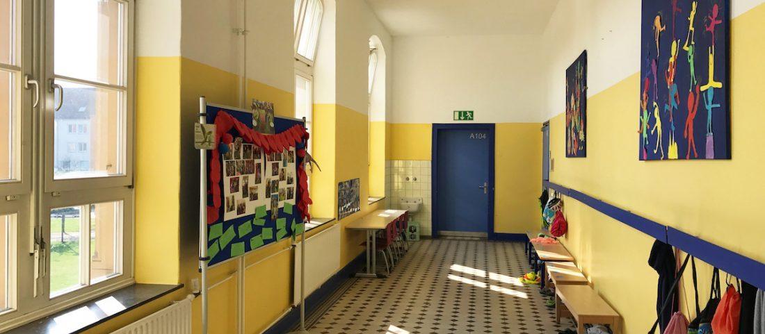 Gemeinschaftsgrundschule Zwirnerstrasse Flur