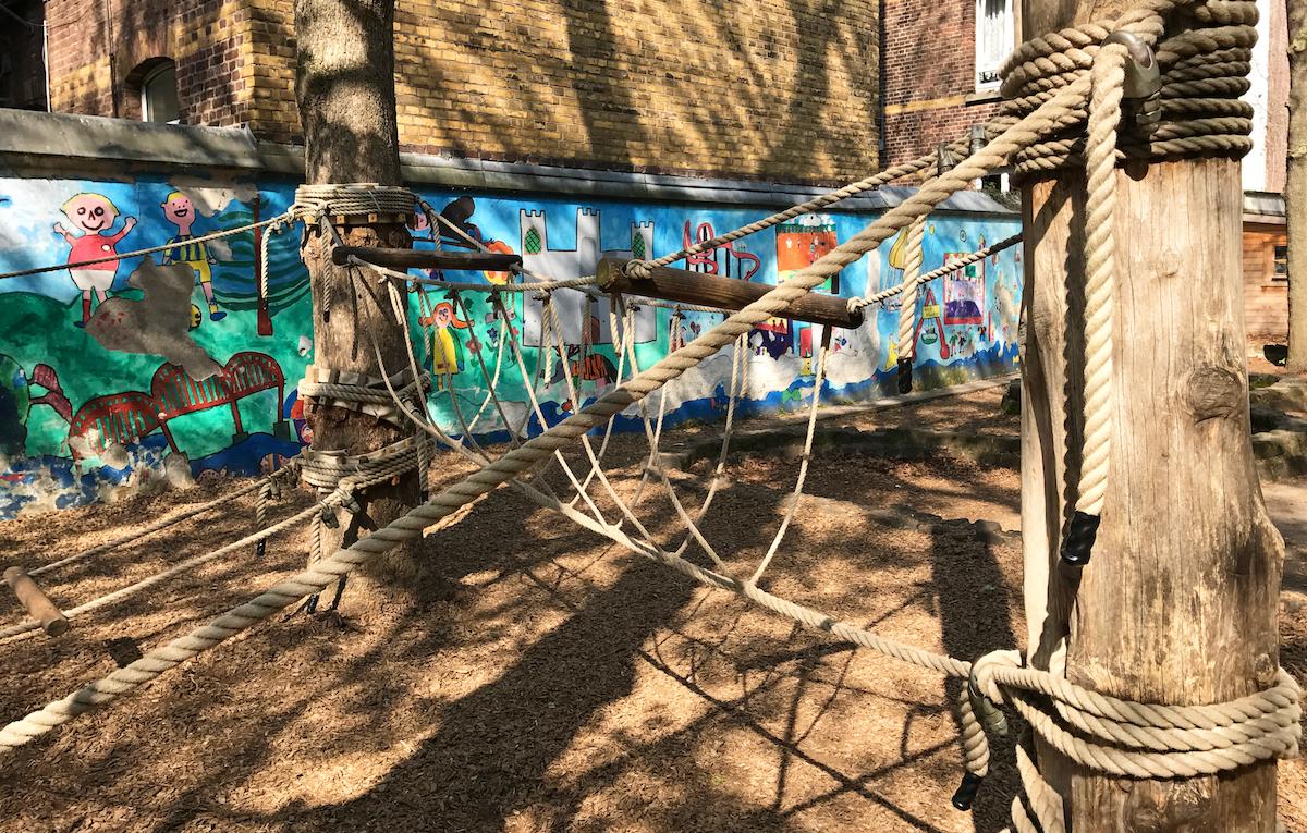 Gemeinschaftsgrundschule Zwirnerstrasse Seilgarten