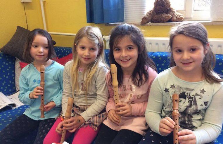 Gemeinschaftsgrundschule Zwirnerstrasse Flöten AG