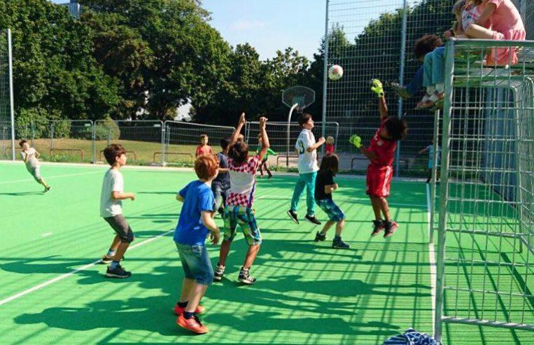 Gemeinschaftsgrundschule Zwirnerstrasse Fussball