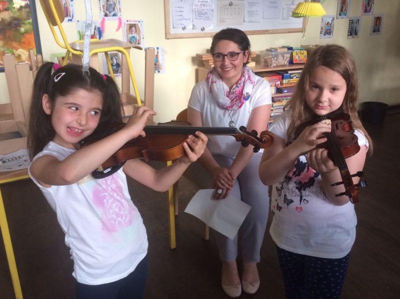 Gemeinschaftsgrundschule Zwirnerstrasse Instrumentenkarussell